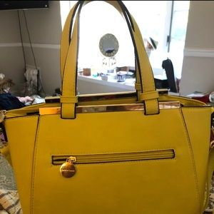 Canary Yellow Handbag -